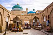 Historical city center of Khiva, Uzbekistan, Asia