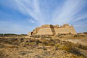 Desert castle Kyzyl Kala, Uzbekistan, Asia