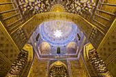 Gur Emir tomb in Samarkand, Uzbekistan, Asia