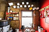 Damoy Hut, former British Air Transit Facility, Historic Monument, Dorian Bay, Wiencke Island, Antarctic Peninsula, Antarctica, Polar Regions