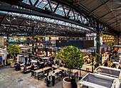 Old Spitalfields Market, London, England, United Kingdom, Europe