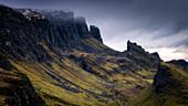 The Quiraing, Isle of Skye, Inner Hebrides, Scotland, United Kingdom, Europe
