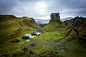 Fairy Glen, Isle of Skye, Inner Hebrides, Scotland, United Kingdom, Europe