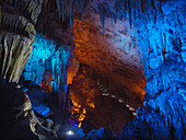 Furong stalactite cave of the Wulong Karst geological park, UNESCO World Heritage Site in Wulong county, Chongqing, China, Asia