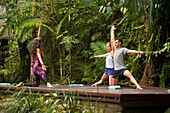 Yoga is part of the lodge activities