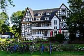 Hotel Hitthim in Kloster, Hiddensee, Ruegen, Baltic Sea Coast, Mecklenburg-Vorpommern, Germany