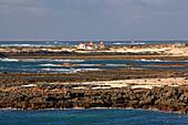 Coastline at El Cotillo, Fuerteventura, Canary Islands, Islas Canarias, Atlantic Ocean, Spain, Europe