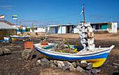 Idyllic places at Casas El Jablito, Fuerteventura, Canary Islands, Islas Canarias, Atlantic Ocean, Spain, Europe