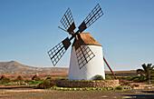 Old mill at Llanos de la Concepción, Fuerteventura, Canary Islands, Islas Canarias, Atlantic Ocean, Spain, Europe