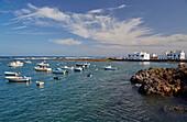 Port at Órzola, Lanzarote, Canary Islands, Islas Canarias, Spain, Europe