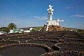 Monumento al Campesino, César Manrique, Jesús Soto, San Bartolomé, Lanzarote, Canary Islands, Islas Canarias, Spain, Europe