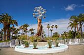 Playa Lago Martianez César Manrique, Puerto de la Cruz, Tenerife, Canary Islands, Islas Canarias, Atlantic Ocean, Spain, Europe
