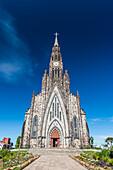Rock Cathedral in central Canela, Rio Grande do Sul, Brazil