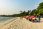 Two Mile beach, Sierra Leone, West Africa, Africa