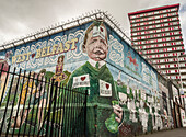 Divis Tower, Mural, Belfast, Ulster, Northern Ireland, United Kingdom, Europe