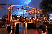 Walter Suskindbrug Bridge, Amsterdam, North Holland, Netherlands, Europe
