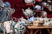 Antiques on Portobello Road, London, England, United Kingdom, Europe