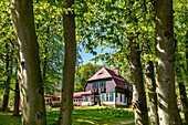Gerhart Hauptmann house, Kloster, Hiddensee island, Mecklenburg-Western Pomerania, Germany