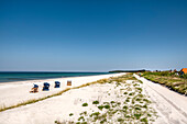 Beach, Vitte, Hiddensee island, Mecklenburg-Western Pomerania, Germany