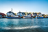 Harbour; Vitte, Hiddensee island, Mecklenburg-Western Pomerania, Germany