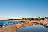 Beach, Ahlbeck, Usedom island, Mecklenburg-Western Pomerania, Germany