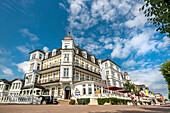 Hotel Ahlbecker Hof, Ahlbeck, Usedom island, Mecklenburg-Western Pomerania, Germany