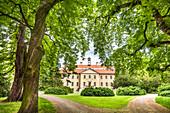 Griebeno castle, Süderholz, Mecklenburg-Western Pomerania, Germany