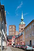 Nikolai church, old town, Stralsund, Mecklenburg-Western Pomerania, Germany