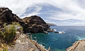 Punta y Prois de Santo Domingo, Puertito de Santo Domingo, Atlantic, UNESCO Biosphere Reserve, La Palma, Canary Islands, Spain, Europe