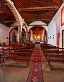 Iglesia Nuestra Senora de la Luz, church, Santo Domingo de Garafia, 16th./17th. century, UNESCO Biosphere Reserve, La Palma, Canary Islands, Spain, Europe