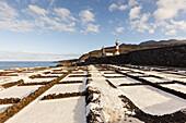 Salinas Marinas de Fuencaliente, saline, saltworks, Fuencaliente, UNESCO Biosphere Reserve, La Palma, Canary Islands, Spain, Europe