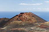 Volcan de Teneguia, volcanic craterUNESCO Biosphere Reserve, La Palma, Canary Islands, Spain, Europe