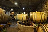 wine barrels, Bodega Matias i Torres, Fuencaliente, UNESCO Biosphere Reserve, La Palma, Canary Islands, Spain, Europe