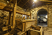 wine press, Bodega Matias i Torres, Fuencaliente, UNESCO Biosphere Reserve, La Palma, Canary Islands, Spain, Europe