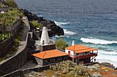 Horno de Cal, lime kiln, San Andres, San Andres y Sauces, east coast, Atlantic, UNESCO Biosphere Reserve, La Palma, Canary Islands, Spain, Europe