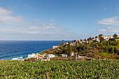 San Andres, village, east coast, Atlantik, San Andres y Sauces, UNESCO Biosphere Reserve, La Palma, Canary Islands, Spain, Europe