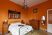 livingroom in an historic house, Santa Cruz de La Palma, capital of the island, UNESCO Biosphere Reserve, La Palma, Canary Islands, Spain, Europe
