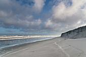 Beach, Langeoog, North Sea, East Frisian Islands, East Frisia, Lower Saxony, Germany, Europe