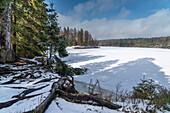 Lake Oder, St. Andreasberg, Braunlage,  Goslar District, Harz National Park, Lower Saxony, Germany, Europe