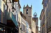 In the oldtown of Aix-en-Provence, Provence, France
