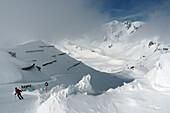 Skiarea Serfaus, Winter in Tyrol, Austria