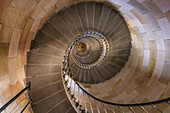 Phare des Baleines, lighthouse, staircase,  Ile de Re, Nouvelle-Aquitaine, french westcoast, france