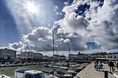 Port of La Flotte, Ile de Re, Nouvelle-Aquitaine, french westcoast, france