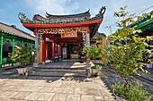 Hoa Van Le Nghia Temple. Hoi An Ancient Town, Quang Nam Province, Vietnam.