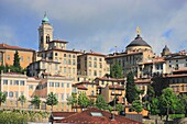 The Old Town of Bergamo, Italy.