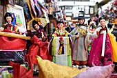Korean doll for sale,Seoul,South Korea.