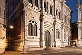 Scuola Grande di San Rocco, sestiere of San Polo, Venice, Italy.