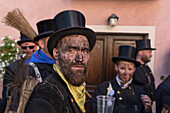 Vigezzo Valley, Santa Maria Maggiore, Verbania district, Piedmont, Italy.International Chimney sweepers gathering