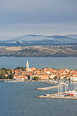 Old fishing town of Izola, Istrian peninsula,southwestern Slovenia, Europe