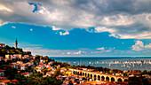 The Barcolana regatta in the gulf of Trieste, Friuli Venezia-Giulia, Italy